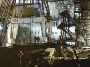 Italy Cargo Ship Crash