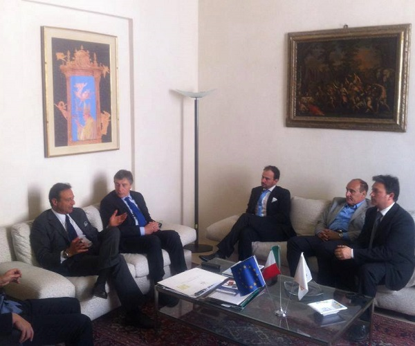 incontro con il presidente della Provincia Gabellone