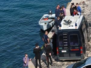 Canale navigabile - Recupero cadavere suicida