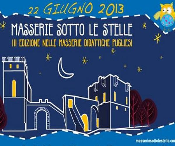 Masserie sotto le stelle 2013