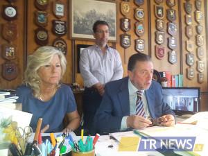 conferenza stampa in Procura per arresto Emilio Miccolis
