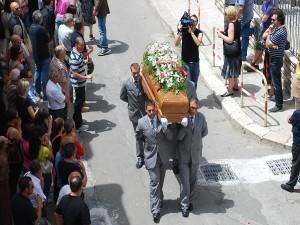 funerale Cosimo Manfreda