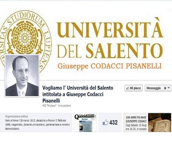 pagina FB a Codacci Pisanelli