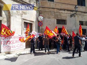 protesta addetti pulizie Università del Salento 1