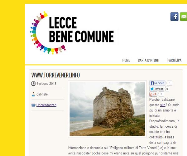 sito Torre Veneri