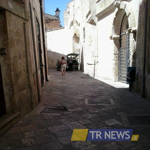 via della Cartapesta a Lecce 1