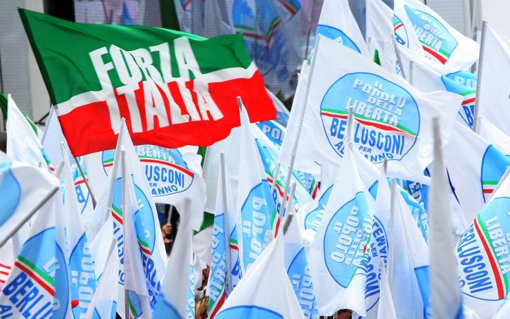 Roma 20080410 - Chiusura campagna elettorale PDL.FOTO ALESSANDRO DI MEO