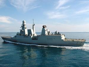 Navi italiane verso la siria due partite da taranto for Andrea doria nave da guerra