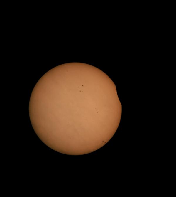 eclisse Parziale di Sole del 3 novembre 2013