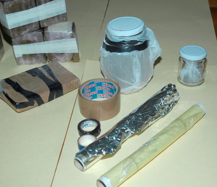 materiale per il confezionamento