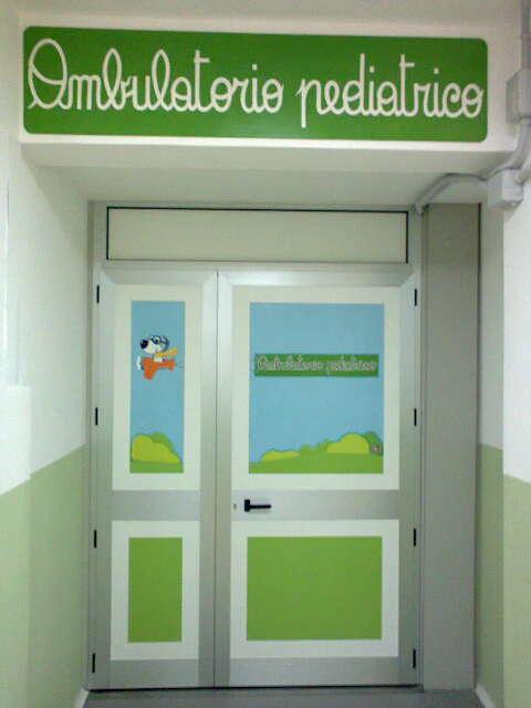 foto ambulatorio pediatrico