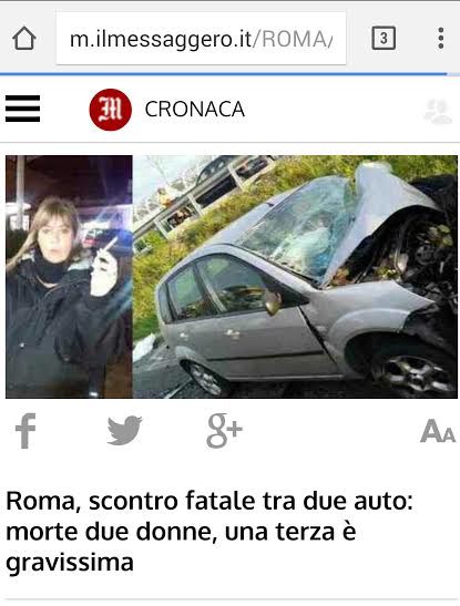Tragico frontale sulla casilina muore anche una donna di for Galatina news cronaca
