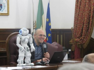 foto robot autismo