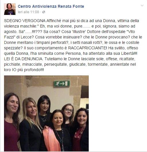 antiviolenza facebook