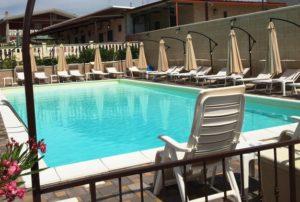 villette con piscina sequestrate a Taranto