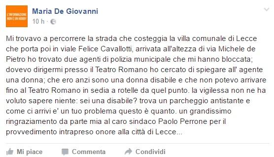 post disabile