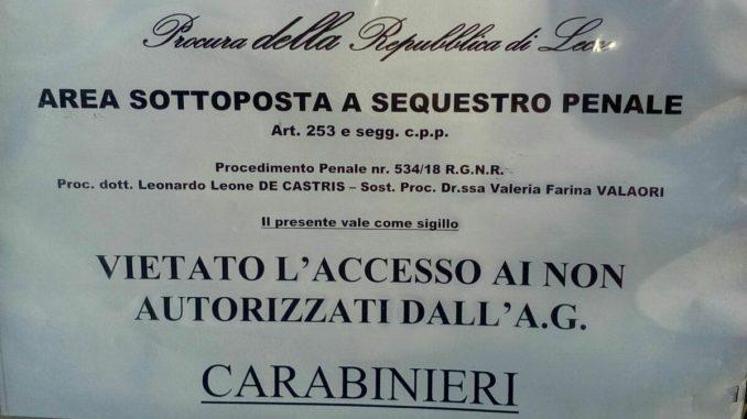 Tap, la procura di Lecce sequestra una parte del cantiere