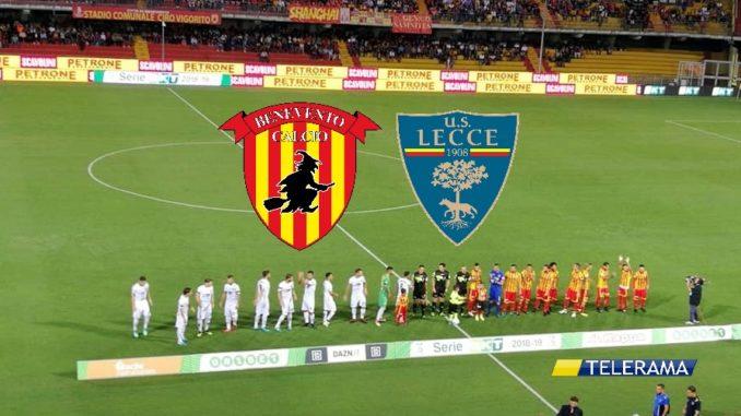 Benevento Lecce 3-3: Liverani rimontato, un punto per Bucchi all'esordio