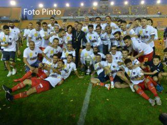 US Lecce premiazione serie C, foto Pinto