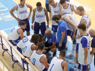 Time out New Basket Brindisi - foto M. De Virgiliis