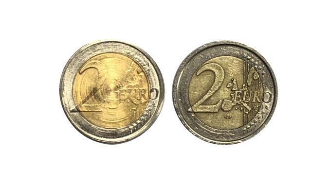 Monete da due euro false, ecco come riconoscerle