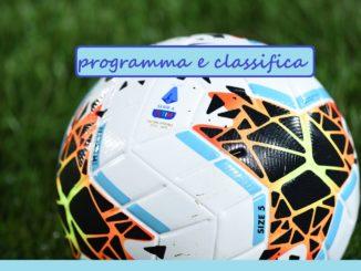 Seria A 13 Giornata Programma E Classifica
